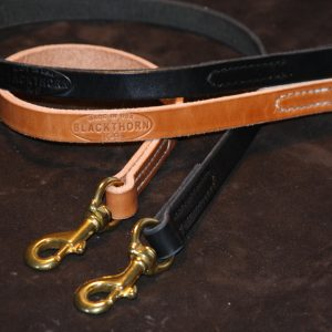 "Lock Stitch Leather Lead 3/4x72""-0"