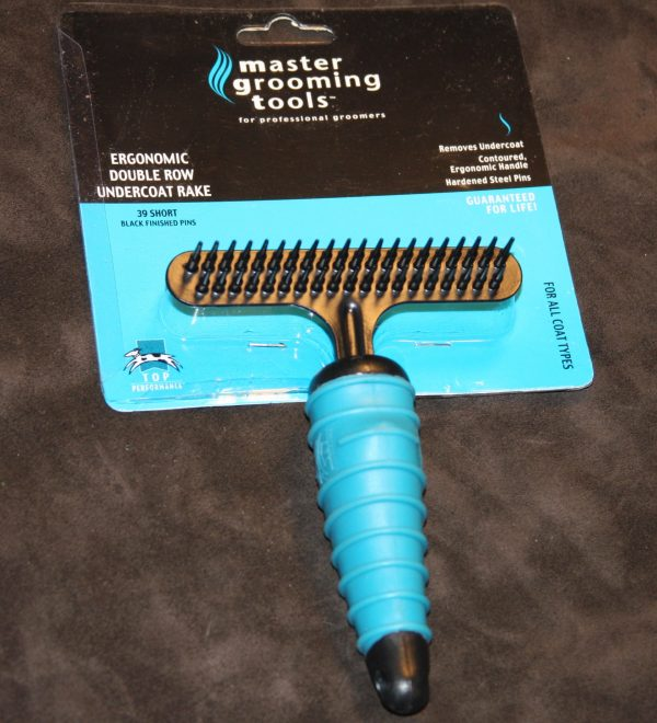 Double Roll Grooming Rake-0