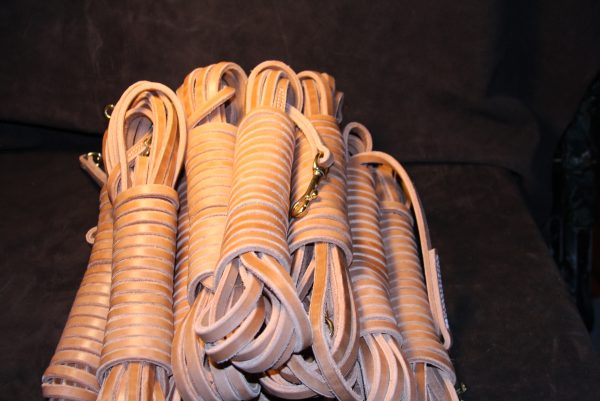 """1/2"""" x 30' Leather Tracking Line-566"""