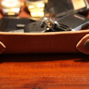 Custom Leather Valet Tray,-0