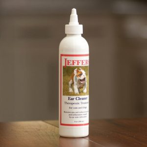 Jeffers® Ear Cleaner & Therapeutic Treatment 8oz-0
