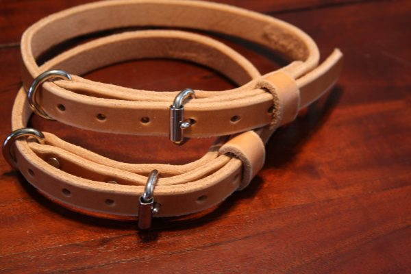 3/4'' Wide Leather collars-704