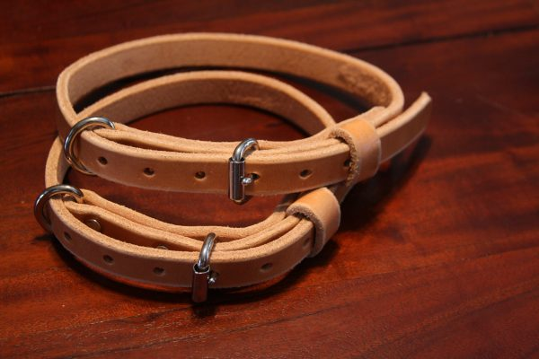 3/4'' Wide Leather collars-705