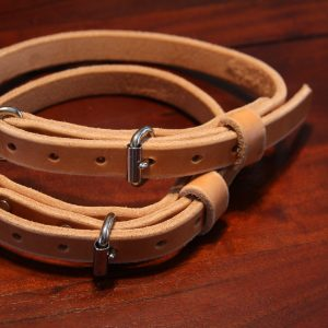 3/4'' Wide Leather collars-0
