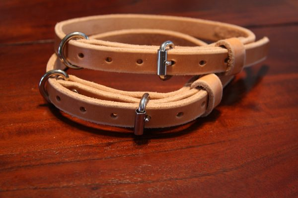 3/4'' Wide Leather collars-703
