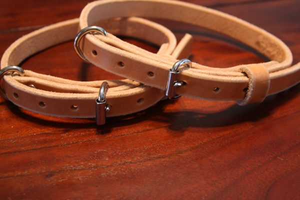 3/4'' Wide Leather collars-701