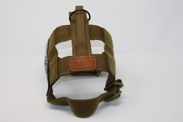 "2"" Mil-Spec Nylon Patrol Harness with metal cobra buckle in Coyote-808"