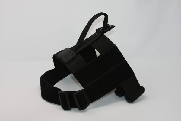 2'' Black Nylon Patrol Harness with Metal Cobra Buckle-801