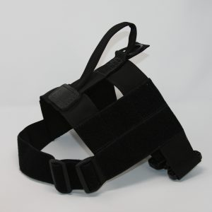 2'' Black Nylon Patrol Harness with Plastic Crobra Buckle-0