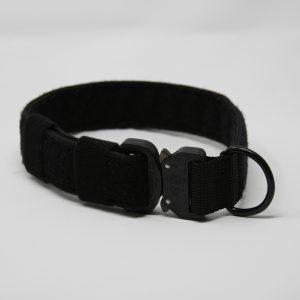 2'' Black Nylon Id Collar w/metal buckle-0